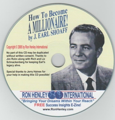 How to Become A Millionaire - Earl Shoaff